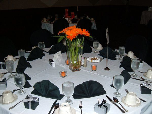 Orange and Black Receptions