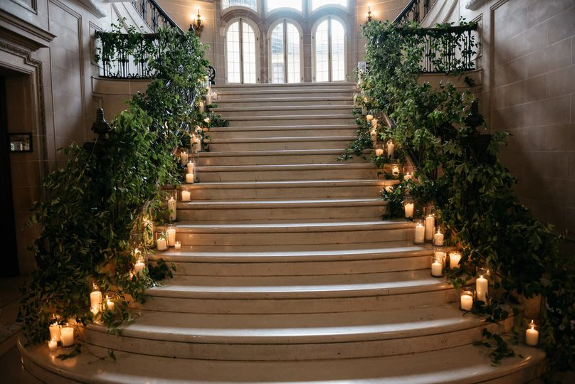 Our Grand Staircase was built for your introduction