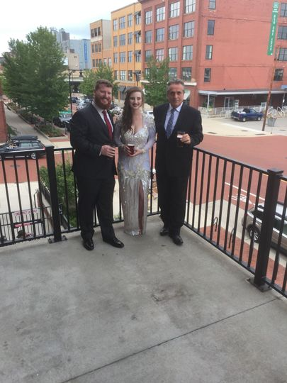 Founders Brewery Wedding Downtown GR