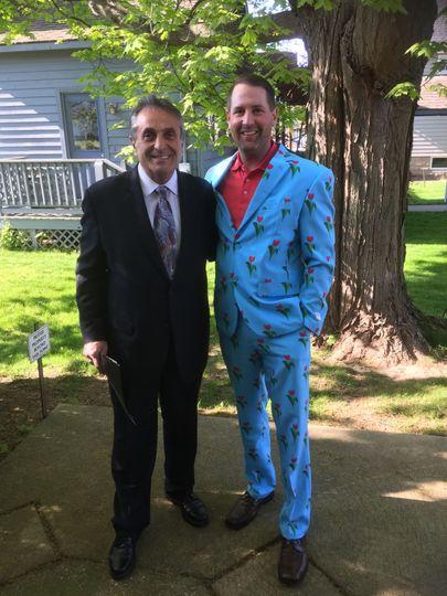 Tulip Festival Wedding Suit