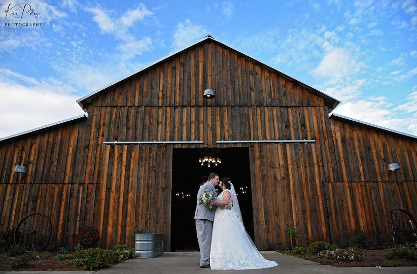 The Barn at TH wedding
