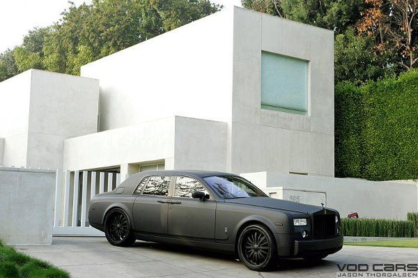 THE ORIGINAL MATTE BLACK PHANTOM DONE BY SPECIALTY CAR CRAFT, LOS ANGELES CALIFORNIA