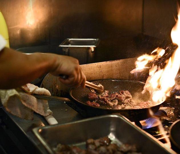 Tuscarora Mill kitchen
