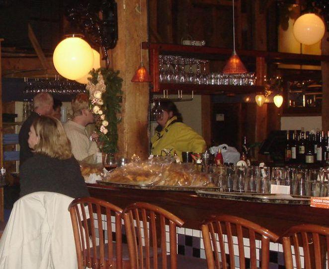 Tuscarora Mill cocktail bar