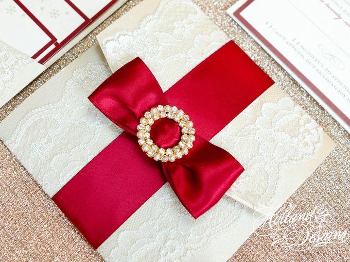 Tmx 1452799354202 Wwinvite8 Jackson, New Jersey wedding invitation