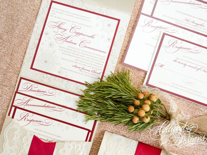 Tmx 1452799361855 Wwinvite9 Jackson, New Jersey wedding invitation