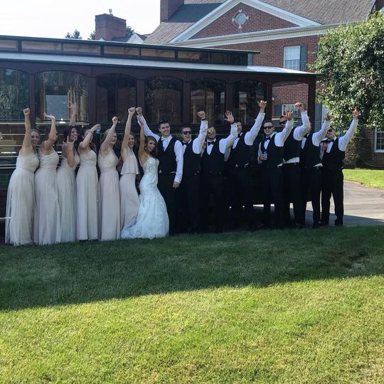 Weddings with the Trolley