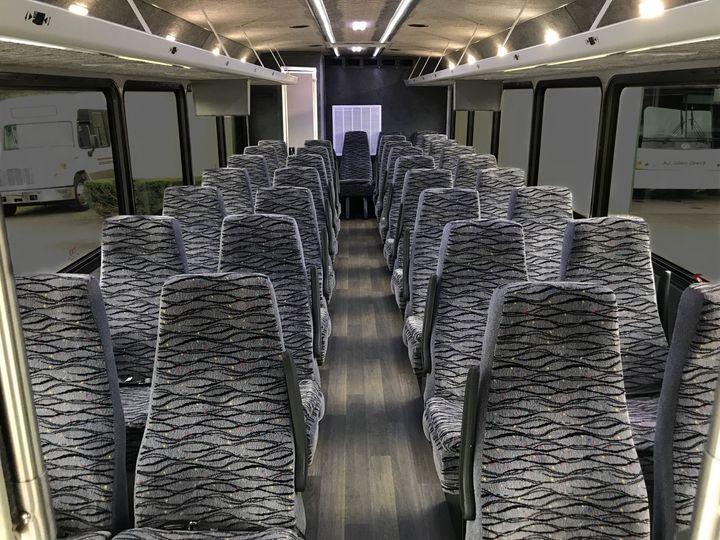 33 Passenger Interior