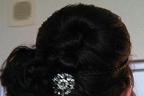 Bridal hair Design on Location