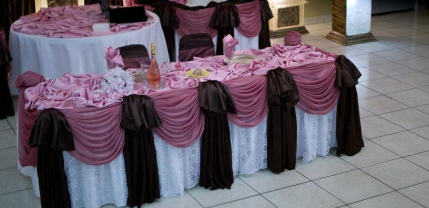 wedding houston texas reception hall white pink br