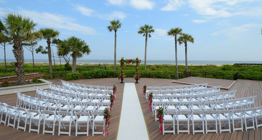 Oceanfront Deck Ceremony