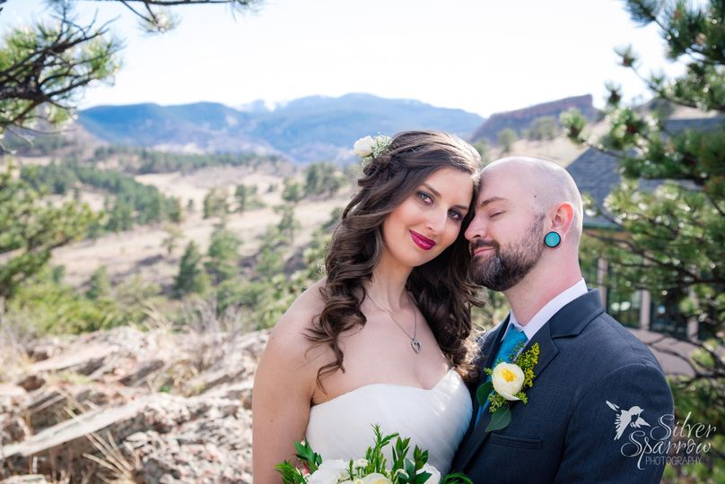 Off Beat Couple at Lionscrest Manor in Colorado