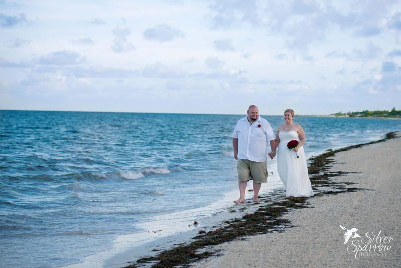 Destination Beach Wedding in Cancun Mexico