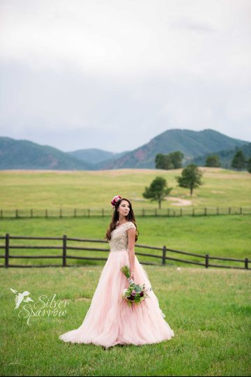 Whimsical Wedding at Spruce Mountain Ranch - Colorado