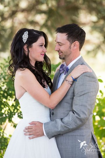 Outdoor fall wedding at Boulder Country Club