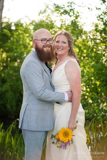 wedding at hudson gardens littleton wedding phot