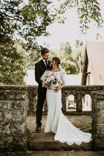Photo of the newlyweds - Hannah Lee Photography