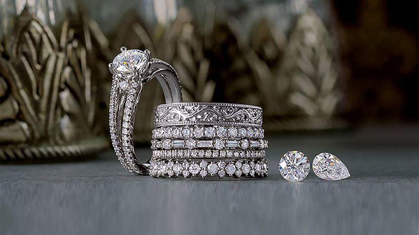 Artisan L.A. engagement rings