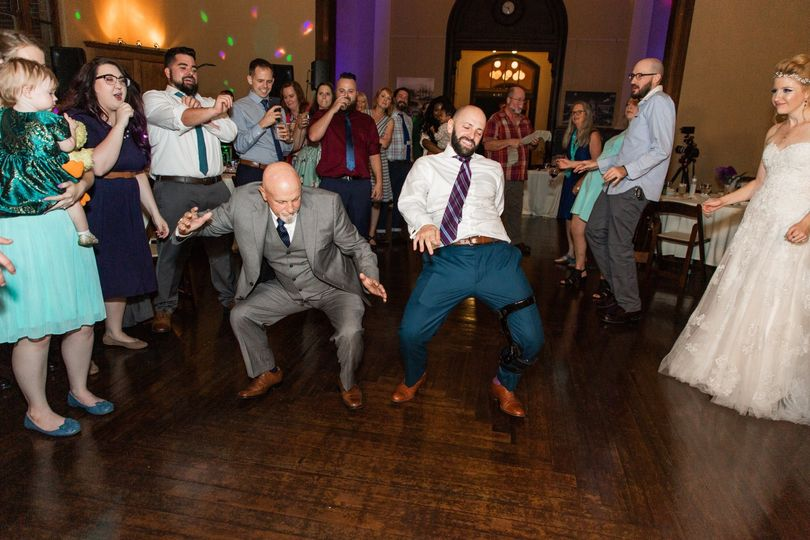 Good time on the dance floor