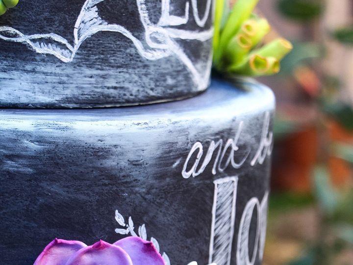Tmx 1465359244448 Chalkboard Cake 4 Bangor, ME wedding cake