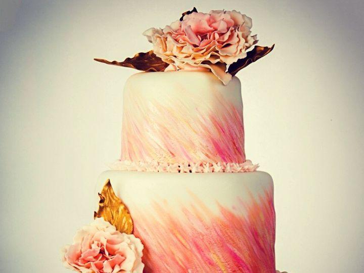 Tmx 1465359446253 Watercolor Cake Bangor, ME wedding cake
