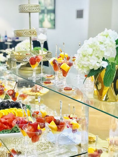 Wedding Fruit Display