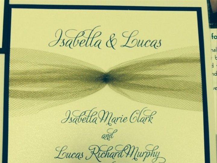 Tmx 1400361922773 Img244 Oakdale wedding invitation