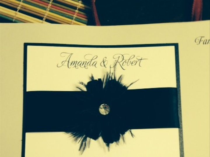 Tmx 1400362016885 Photo  Oakdale wedding invitation