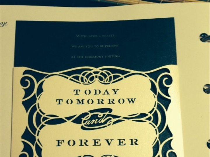 Tmx 1400362055171 Photo  Oakdale wedding invitation