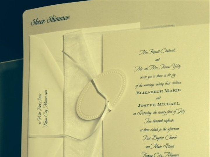 Tmx 1400362071874 Photo  Oakdale wedding invitation