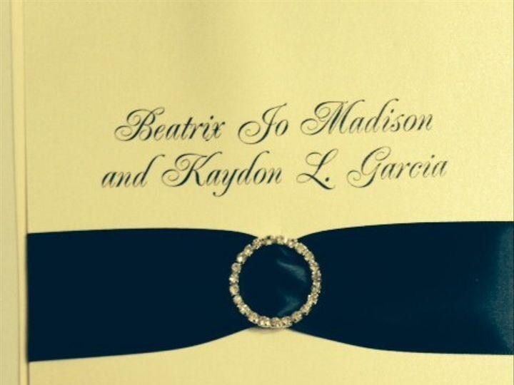 Tmx 1400362124851 Photo  Oakdale wedding invitation