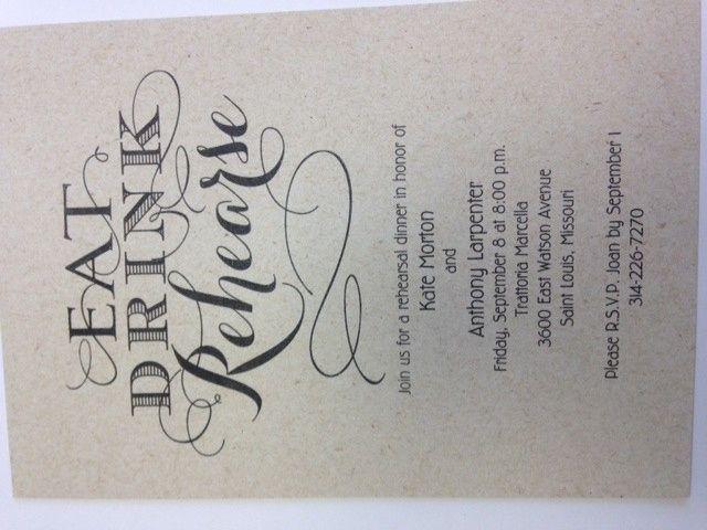 Tmx 1400623762124 Photo4 Oakdale wedding invitation