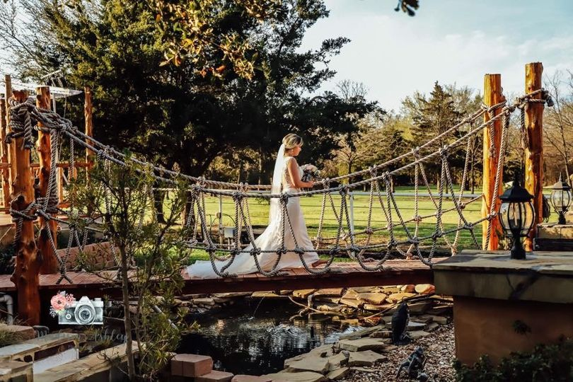 The walk across the bridge