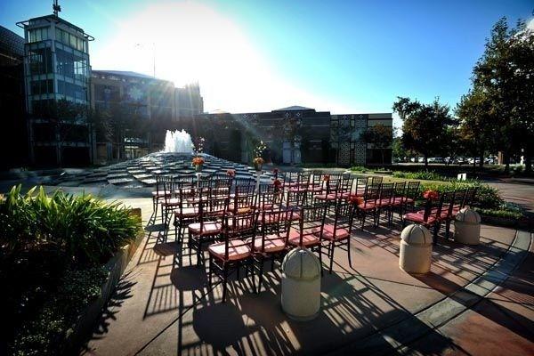 fountain ceremony empty