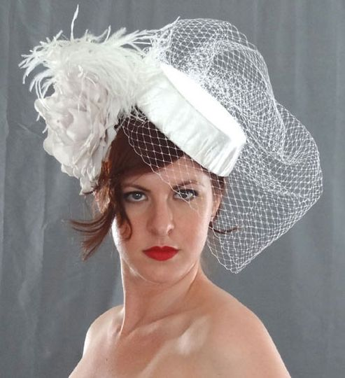 Grand Couture Bridal Hat