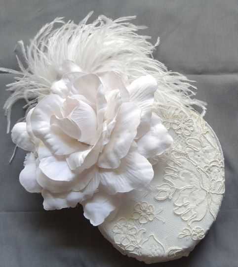 """Audrey"" Bridal Hat"