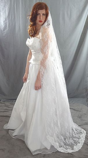 allover lace veil 3