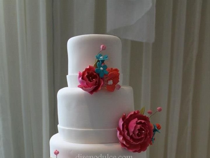Tmx 1414433318644 53292710151531011374556235032370n Arlington wedding cake