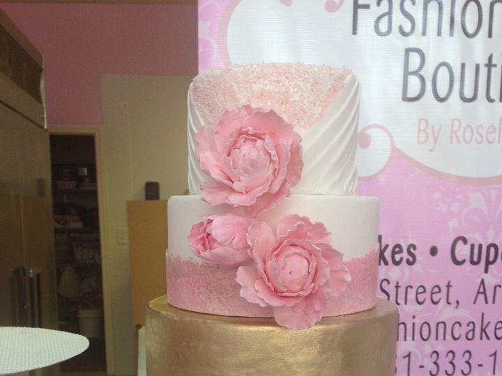 Tmx 1414433373197 Photo 2 4 Arlington wedding cake