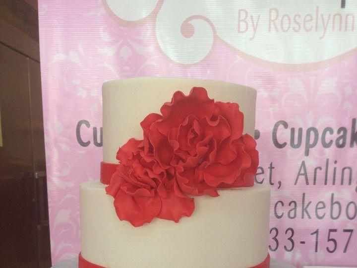 Tmx 1414433391359 Wedding1 Arlington wedding cake