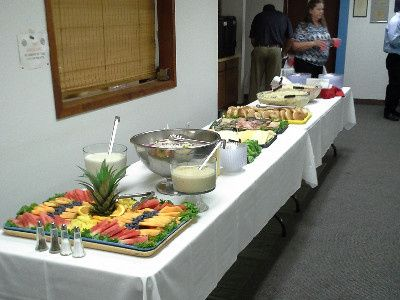 Pacers Catering Service buffet