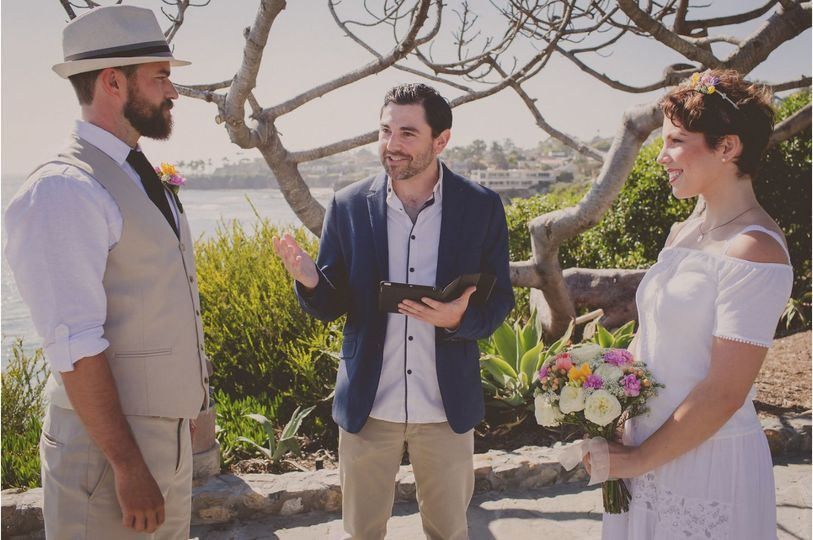 Casual wedding