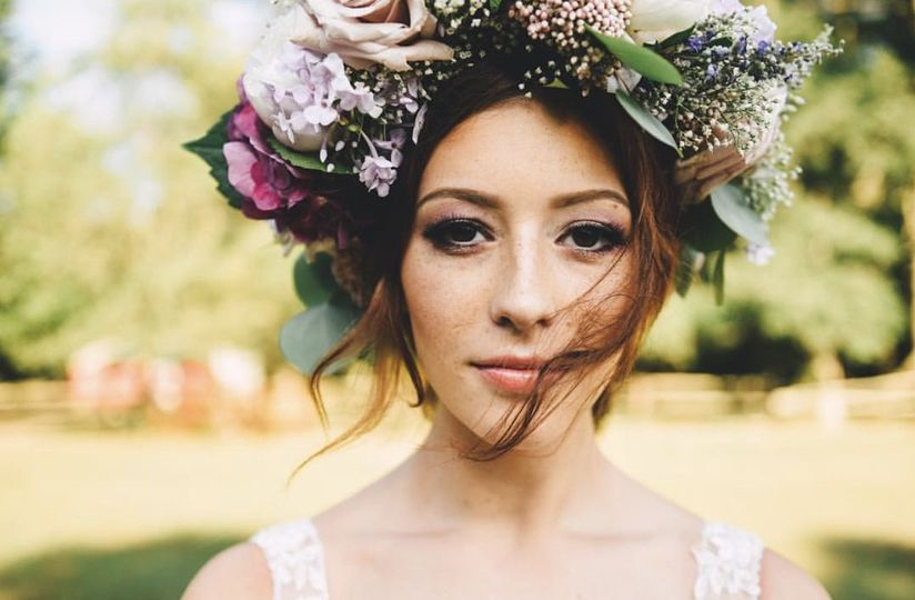 Kiss the Bride Hair and Makeup Design