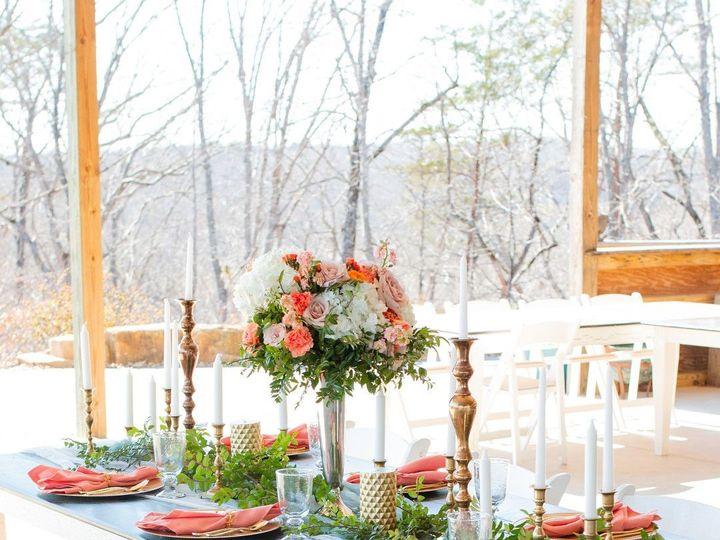 Tmx Coral Sunset Wedding In North Carolina Him Her Photography Hhstyledshoot1010 Big 51 1013036 157815410669225 Greensboro, NC wedding florist
