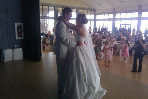 Couple dancing