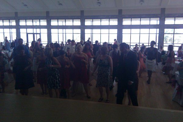 Wedding dance floor