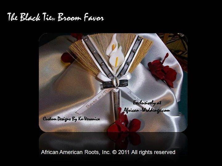 The Black-tie Broom Favor™