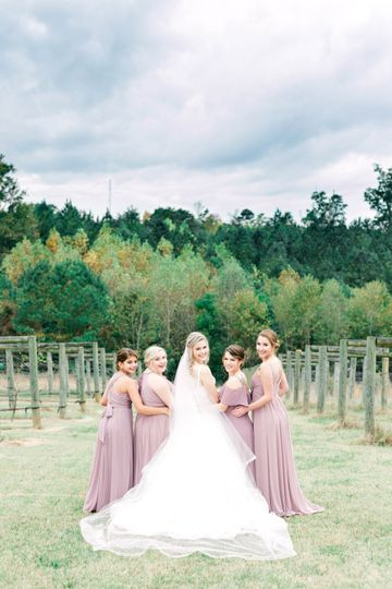 Bridal Party at Spinning Leaf