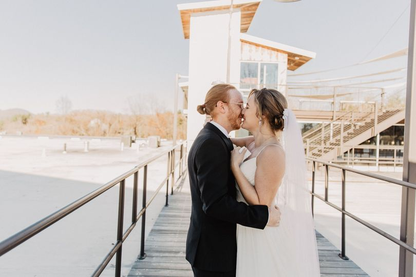 Rooftop First Kiss