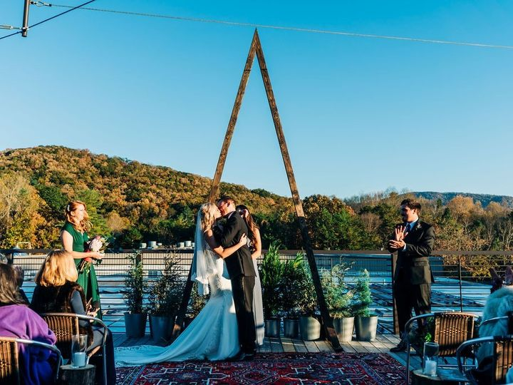 Tmx Fall Rooftop 51 324036 158472293193043 Asheville, NC wedding venue